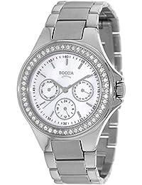 Boccia Damen-Armbanduhr Analog Quarz Titan 3758-01