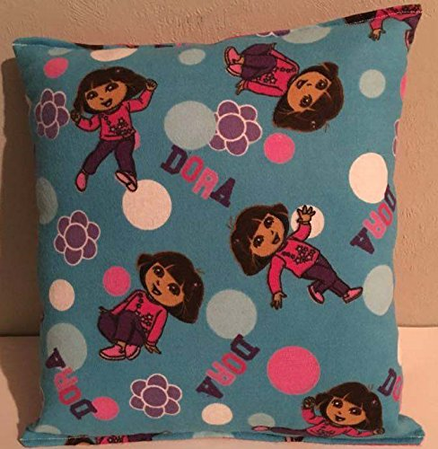 dora-the-explorer-pillow-nickelodeon-toddler-travel-daycare-handmade-in-usa-new-pillow