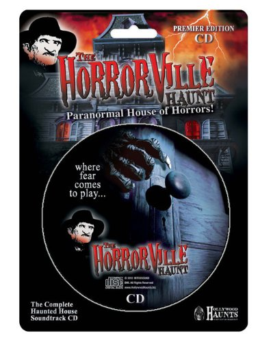 Halloween CD The HorrorVille Haunt mit Gruselmusik & Halloween Sound Effekten