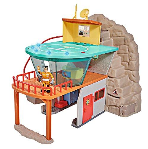 feuerwehrmann sam spielfiguren Simba 109251003 Fireman FS Sam Bergrettung mit Figur
