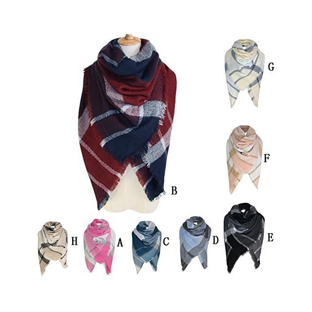 75fe44add11d ... foulards , Tefamore Mode Lady Femmes Longue enveloppe souple Lady Châle  Écharpe Écharpe Collier écharpe