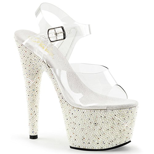 Heels-Perfect , Sandales pour femme Weiss (weiss)