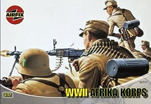 Airfix - Afrika Korps, Set de Figuras (Hornby A01711)