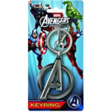 Marvel Los Vengadores Ensamble Logo estaño Llavero