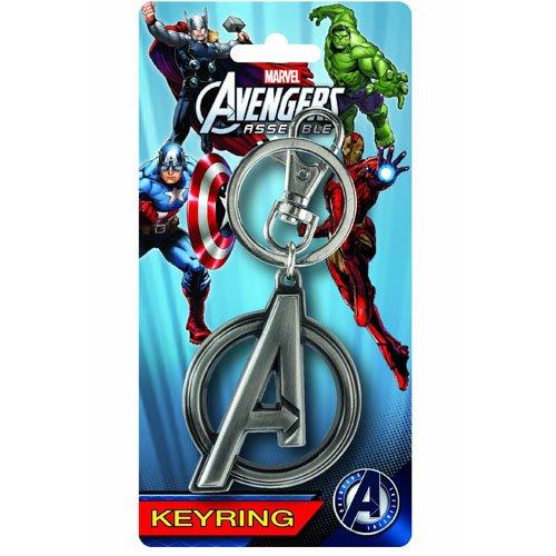 Avengers A Logo Pewter Portachiavi
