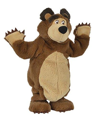 Preisvergleich Produktbild Simba 109308236 - Mascha und der Bär Tanzender Misha Bär 32cm