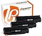 Bubprint 3 Toner kompatibel für HP CE278A 78A für Laserjet M1500 M1536DNF M1537DNF M1538DNF M1539DNF P1566 P1600 P1606DN P1607DN P1608DN MFP Schwarz