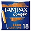 Tampax Compak Super Plus Tampons with Applicator