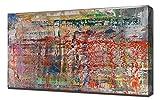 Lilarama Gerhard Richter 2- Art Leinwandbild - Kunstdrucke - Gemälde Wandbilder