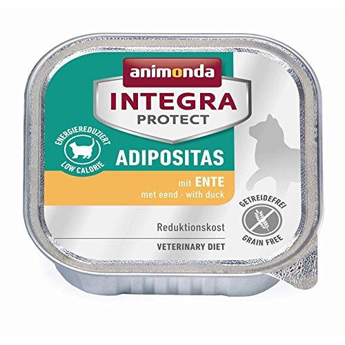 Animonda Cat Schale Integra Protect Adipositas mit Ente 100g