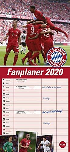 FCB Fanplaner. Wandkalender 2020.