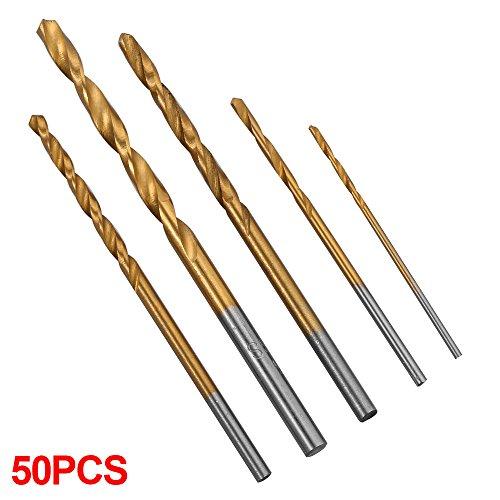 xcsource-50pcs-titanium-coated-hss-twist-drill-bit-set-1-15-2-25-3mm-for-wood-plastic-sheet-metel-po