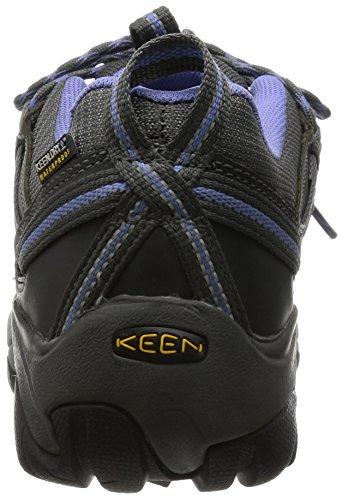 Keen Targhee Ii, Chaussures de Randonnée Basses Femme Gris (Magnet/Periwinkle)