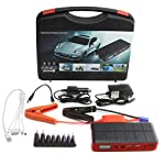 When you need high quality 12000 mah portable jump starter power bank and external battery pack for yourputer | smartphone | tablet | car | motobike | truck | suv | boats or jet ski, you need the power of strongrr 12000 mah portable jump starter powe...