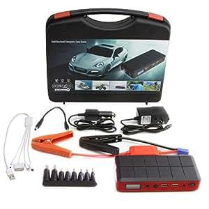 Strongrr New Portable Jump Starter for 2008 Yamaha YZF R6S 12V 400A Peak Current Power Bank 12000mAh External Battery Pack 2 USB Output 5V/2. 1A AC Output 5V/1A