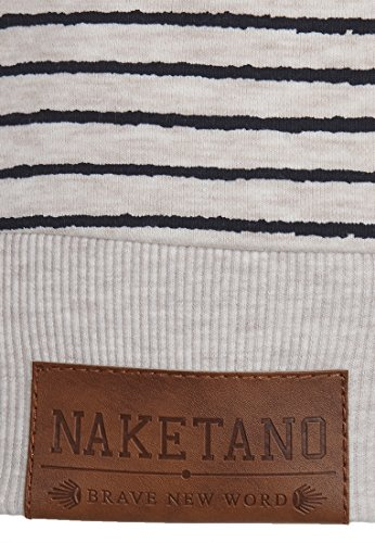 Naketano Female Zipped Jacket Nasenhaarwickler Oma Melange