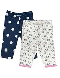 Sofie & Sam Bio-Baumwolle 2er Pack Combo 6-9 Monate Baby Schlafanzug Hosen Pajama