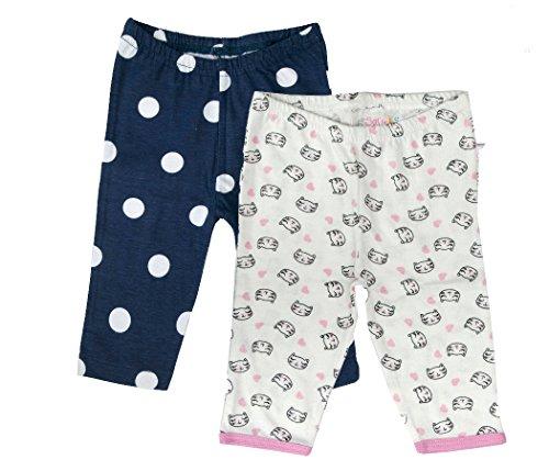 Sofie & Sam Bio-Baumwolle 2er Pack Combo 6-9 Monate Baby Schlafanzug Hosen Pajama 2er-pack Baby-hose
