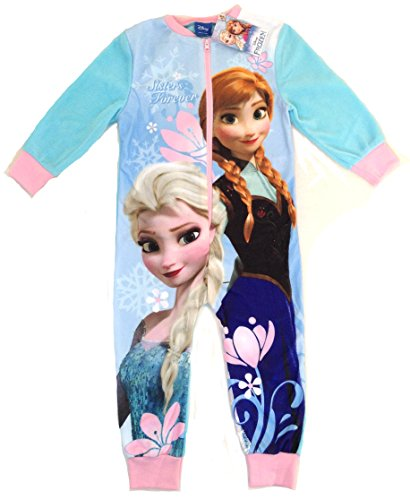 AW-16-Girls-DISNEY-FROZEN-onesie-Ages-23-34-56-78-yrs