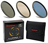 Dolder X-Pro II Digital MC Neutral Graufilter Set bestehend aus ND8, ND64, ND1000 Filtern 77mm (16 Layers) Neutral Graufilter Set, ND Filtersets Multicoated & HD