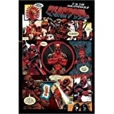 Póster Deadpool - Panels - cartel económico, póster XXL