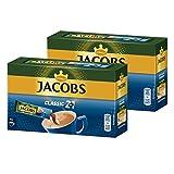 Jacobs 2in1 löslicher Kaffee, Instantkaffee, 2er Pack, 2 x 10 Becherportionen