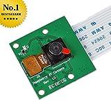 SainSmart Camera Module Board 5MP Webcam Video 1080p 720p for Raspberry Pi 3 Model B Pi 2 Mode B B+