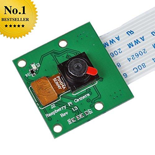 Fotocamera Consiglio Modulo WebCam Video 5MP 720p 1080p per Raspberry Pi