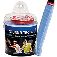 Unique Overgrip Tourna Tac Tour 30er - Mango de raqueta de tenis, color azul,