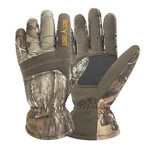 Hot Shot Herren Defender Winter Thermo-Handschuhe, Camo, Herren, RealTree Xtra