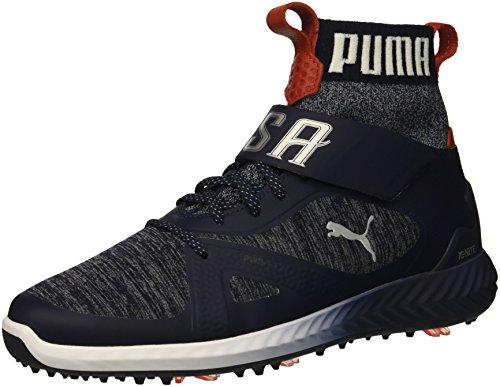 Preisvergleich Produktbild PUMA Golf Men's Ignite Pwradapt Hi-Top Golf Shoe,  Peacoat / White / Red,  8.5 M US