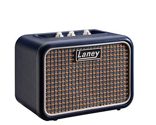 Laney Mini Series Gitarrenverstärker mit Smartphone-Schnittstelle Löwenherz (Lionheart) Mono blau