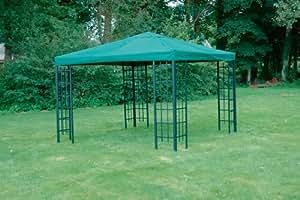 Lesli Toit de rechange ultra solide pour pavillon en métal Vert 3 x 3m 230 g/m²