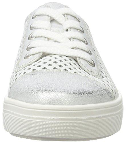 Remonte Damen R7804 Sneaker Weiß (ice/weiss/81)