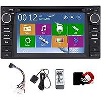 FM stereo AM 3D di navigazione di GPS video lettore DVD dell'automobile per Toyota Corolla EX 2008-2013 VIOS RAV4 USB SD Bluetooth GAutoradio ricevitore radio Audio Monitor Headunit Touchscreen BT iPod