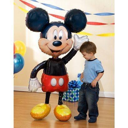 Globo de helio tamaño XL, diseño de Mickey Mouse
