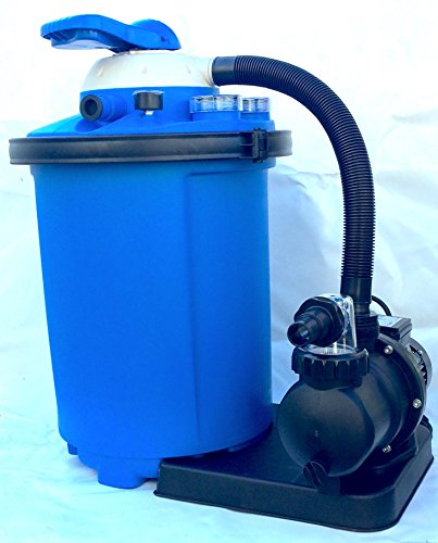 Pompa filtro a sabbia per piscina fuoriterra interrata (8 metri cubi)