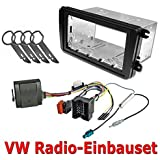 Doble DIN Marco para radio + bus CAN + herramienta para VW Golf 5 6 Passat B6 B7, Polo 6R EOS Jetta Touran