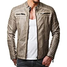 newest 230d7 41c27 giubbotto uomo invernale - Beige - Amazon.it