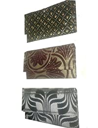 WARIS BAG Women's Clutches Pack Of 3 (WSG-14_Multi)