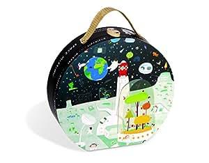 Janod - 4502924 - Puzzle - L'espace - 7 pièces