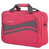 travelite Wave Bordtasche 41cm pink