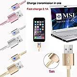 1 Mt 2 M 3 M 2.1A USB-C USB 3.1 Typ C Daten Sync Schneller Ladegerät Kabel Für Samsung Galaxy S8