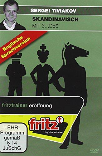 Preisvergleich Produktbild Skandinavisch mit 3...Dd6: Video-Schachtraining - Englische Sprachausgabe