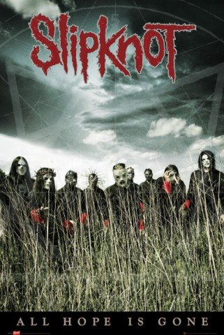Art1 43347 Poster Slipknot - All Hope Is Gone, 91 x 61 cm
