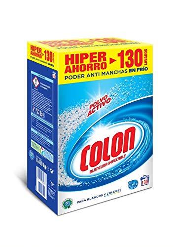 Colon Detergente Lavadora Polvo Activo - 130 dosis
