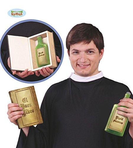 Preisvergleich Produktbild BUCHATTRAPPE - HEILWASSER - mit Flasche, Wunderheiler Zauberheiler Scharlatan