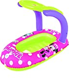 Bestway Poolboot mit Sonnendach Mickey Mouse Clubhouse Minnie 112x71 cm