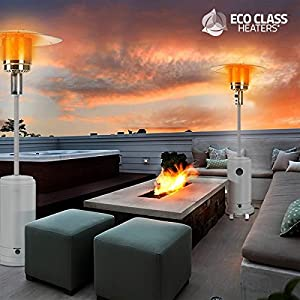Thermic Dynamics Eco Class Heaters GH Gas Heater Outdoor, Grey, 43 x 43 x 221 cm