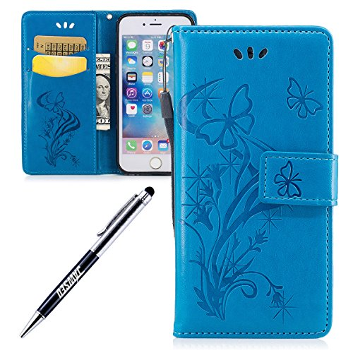 iPhone-6-Plus-55-iPhone-6S-Plus-Custodia-iPhone-6S-Plus-Cover-Custodia-Pelle-JAWSEU-iPhone-6-Plus-Protezione-Libro-Disegno-Wallet-Leather-Flip-Case-Cover-Custodia-per-iPhone-66S-Plus-Cover-Copertura-G